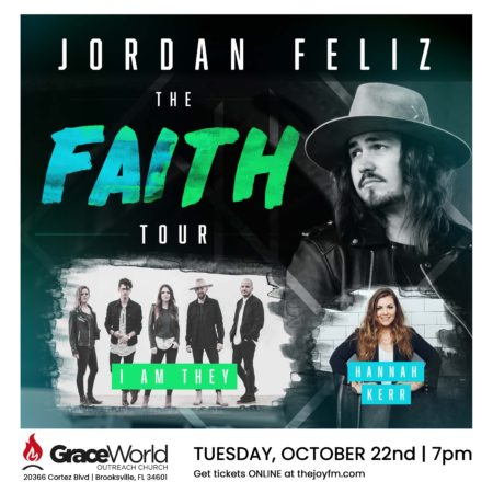 Jordan Feliz -The Faith Tour