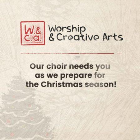 Christmas Choir Sign Ups